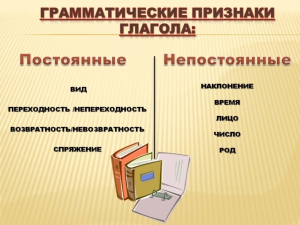 Какие формы глаголов бывают в русском языке