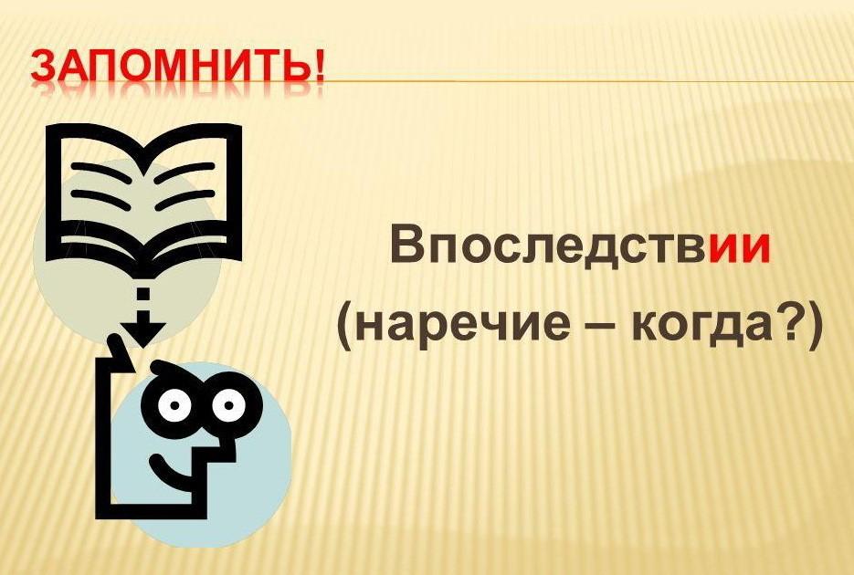 «Впоследствии»: нужна ли запятая или нет